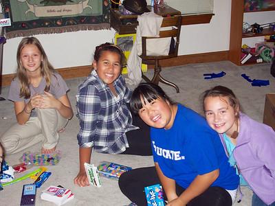 Emma, Cece, Katie, Yvonne