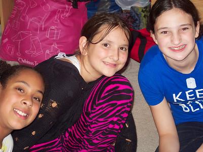Sophia, Lucy, Rachel
