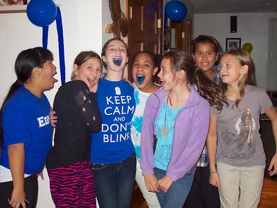 Katie, Lucy, Rachel, Sophia, Yvonne, CeCe, Emma