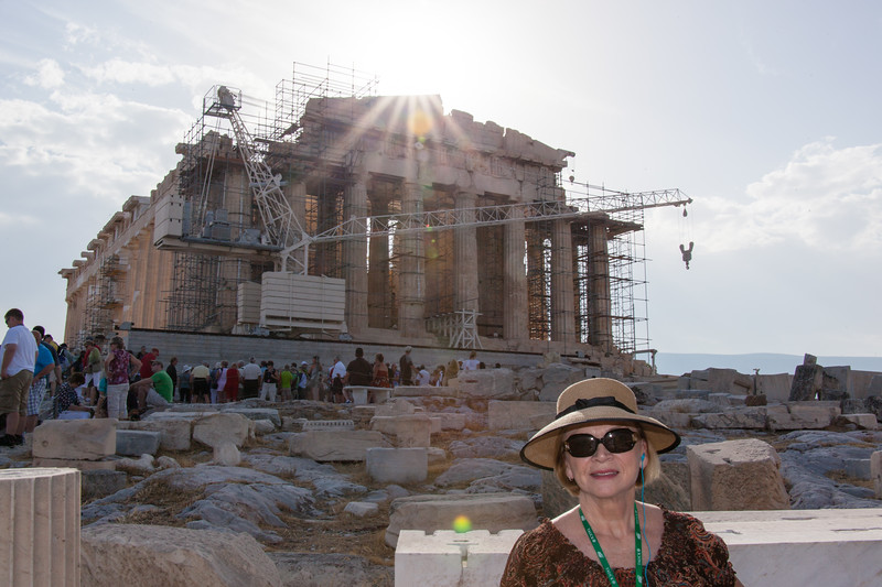 Parthenon atop the Acropolis-2