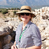 Climbing the Mycenae archaeological site