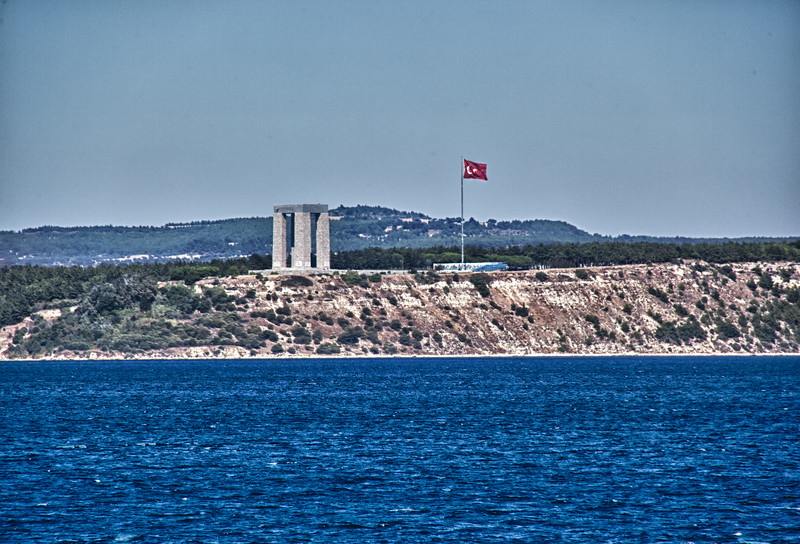 Dardanelles Straits (Click on Map This)