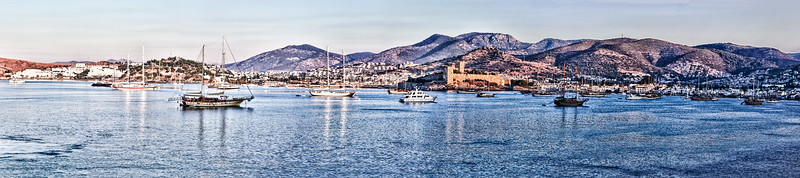 Bodrum Harbor, Turkey_