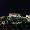 Acropolis and Parthenon from our hotel restaurant