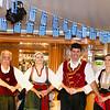 Greek Dancers join us onboard