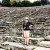 Epidaurus Theatre built in 4th century BC still use for performances