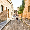 "Streets in the Old City, Rhodes, Greece (Click on ""Map This"")"