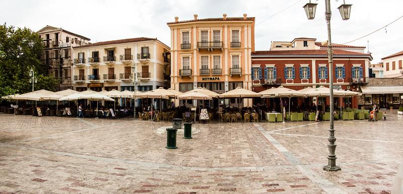 Nafplion, Greece city center