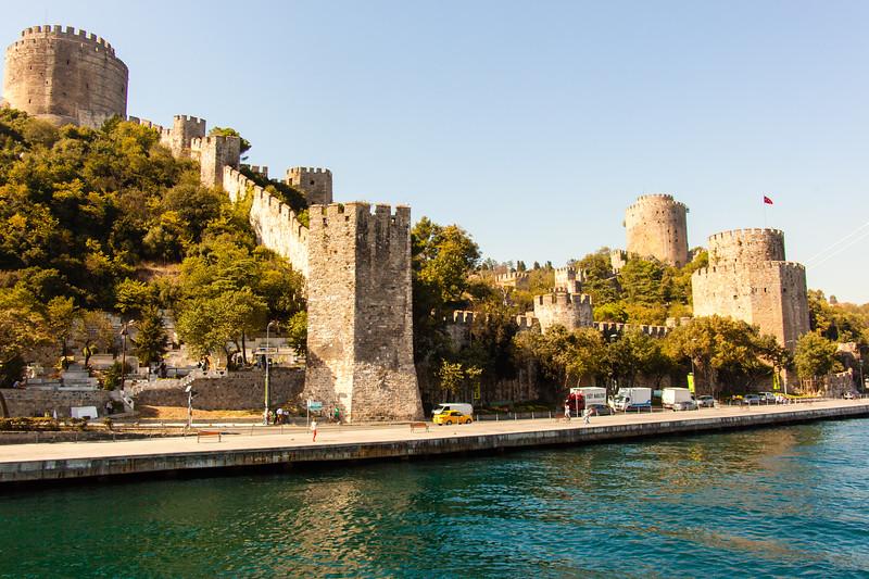 Along the Bosphorus Strait
