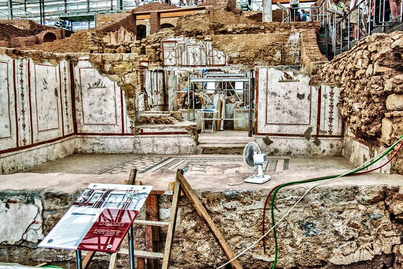 Excavation of wealty homes