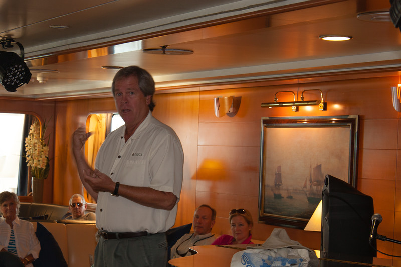 1 of our 2 tour directors, Phillip Pope