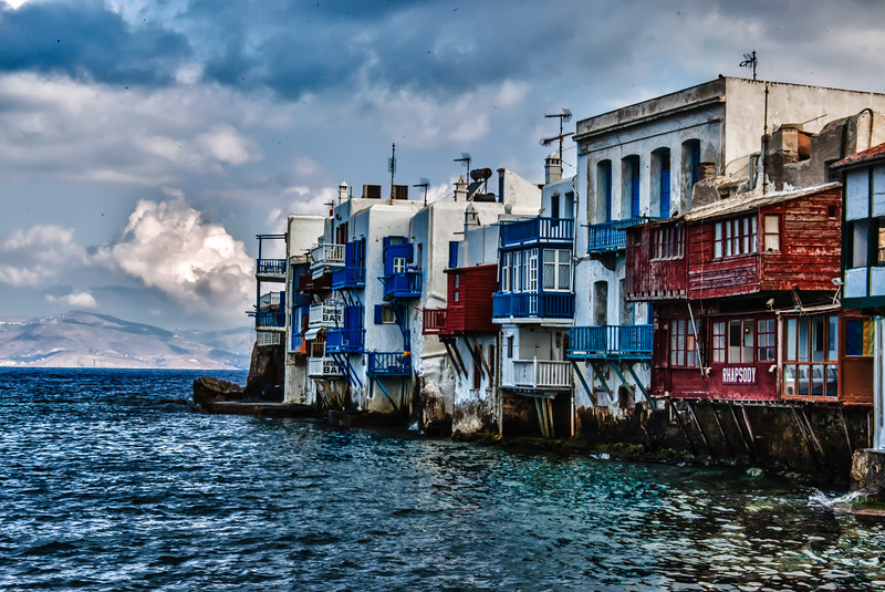 18th Century Sail Captain's Homes Mykonos