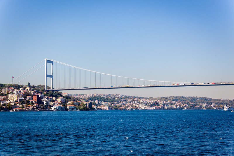 "The Bridge that connects Europe and Asia (See ""Map This"")"