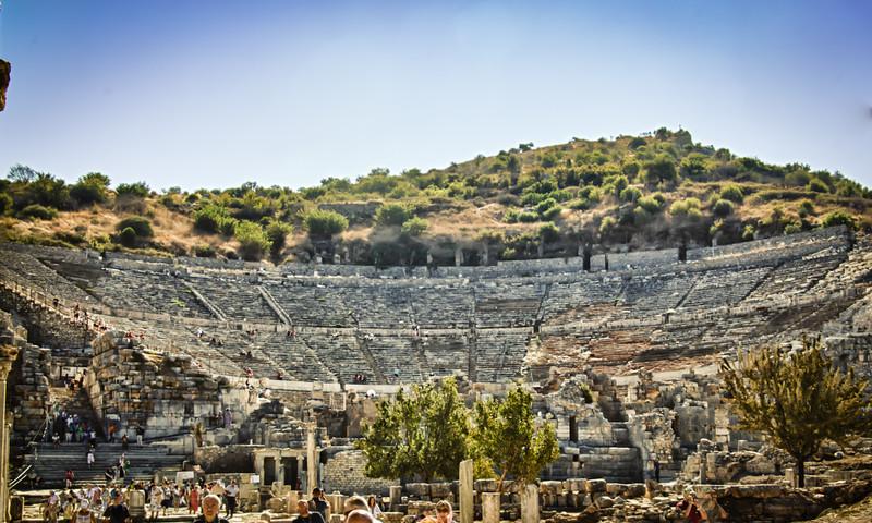 Theatre at Ephesus Still in use!