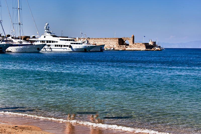Seaside, Rhodes, Greece-Edit
