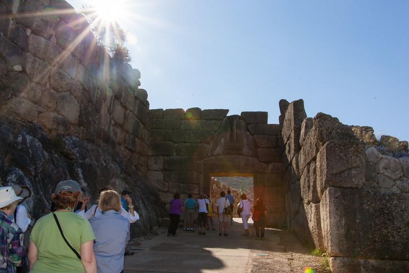 Mycenae archaeological site 2,000BC!!!!