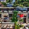 Our lunch location on the Bosphorus