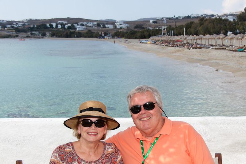 Us- Mykonos Island, Greece