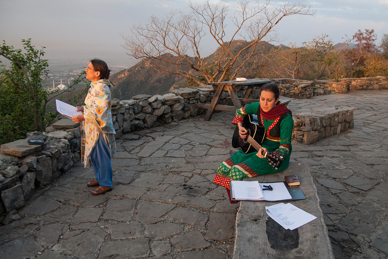 On Easter Sunday we went up to a viewpoint in the hills overlooking Islamabad at sunrise. It was a good time of worship.