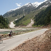Beautiful scenery and a nice paved road heading north from Naran