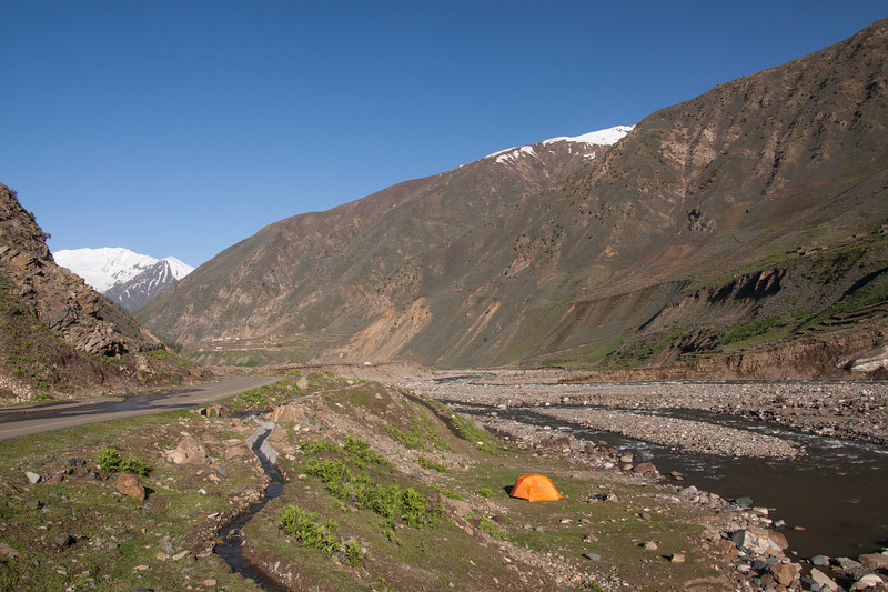 This is where we camped the first night. It was around 9500 ft elevation and there were amazing stars at night.