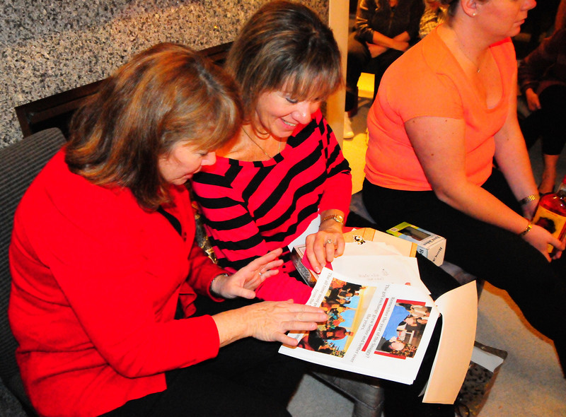 Kathy made this great book for Marie and Rob about 30 years of Christmas Eve gatherings.