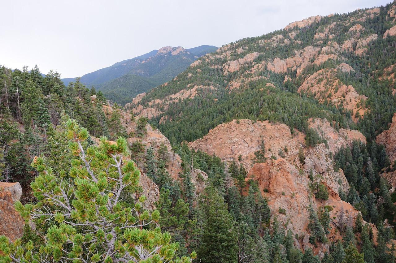 Seven Falls i n Colorado Springs