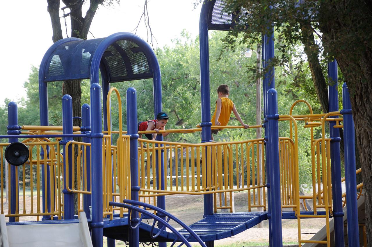 Playgraound in Lamar Colorado