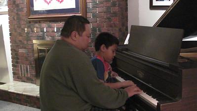 2012-12-22 Dad & AJ Sinulog Piano