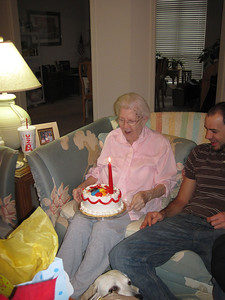 Mom's 89th birthday.