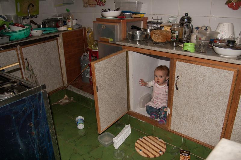 Her favorite cupboard