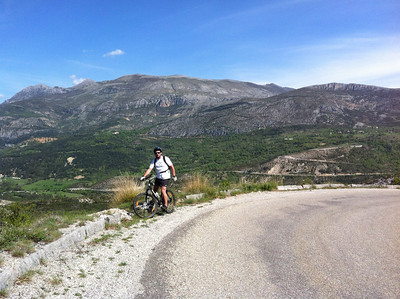 Gorges du Verdon cycle with Malc 11/5/2012