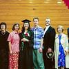 Annie's university graduation, 2000