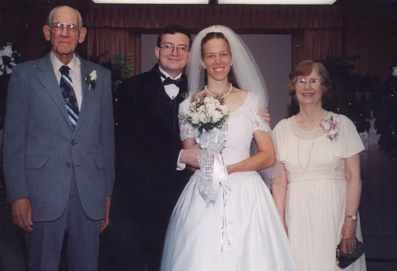 Floyd and Annie's wedding, 2002