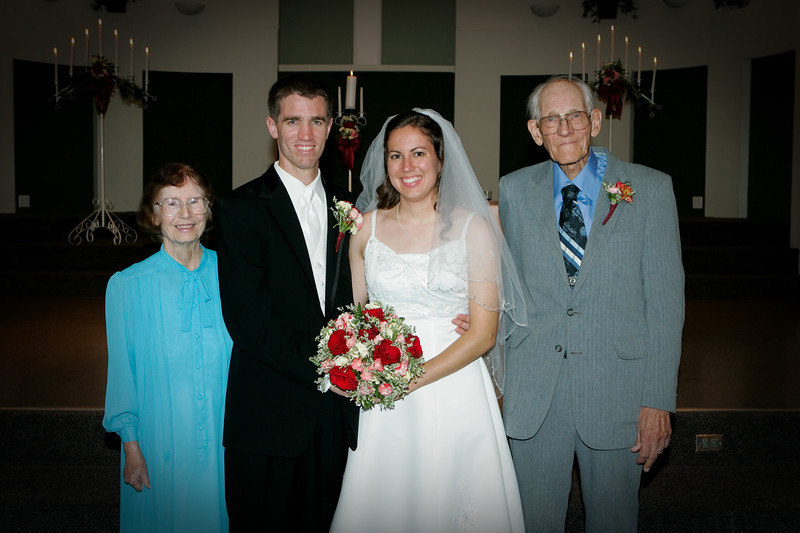 Jimmy and Erin's wedding, 2008