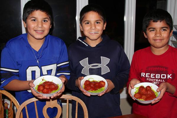Grinchmas with Michael, Alberto, and Jonathan