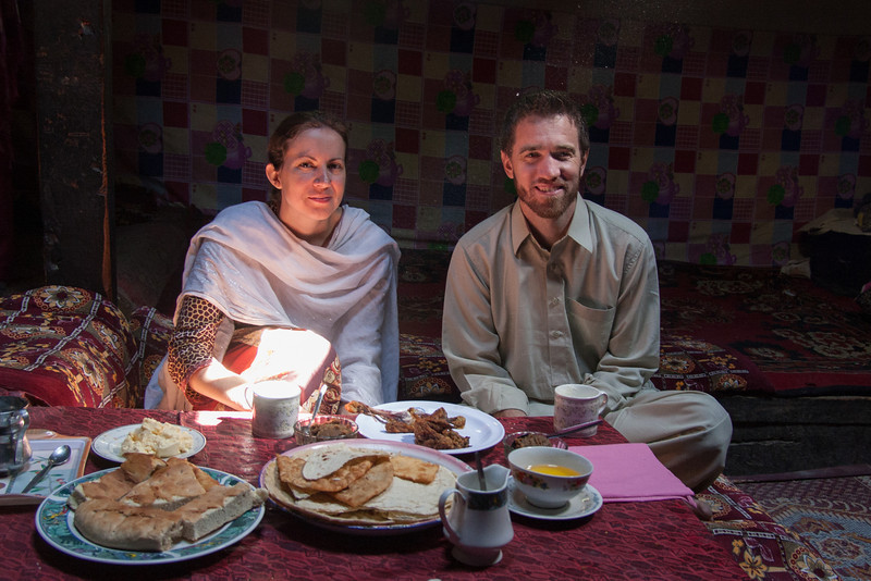 We enjoyed all sorts of traditional Wakhi delicacies during our stay in Gulmit