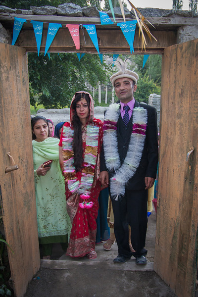 Rehman bringing Ajiba into his family's home as a new daughter-in-law