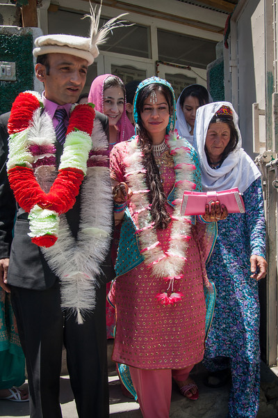 Rehman with his bride, Ajiba, at last (after a day and a half of wedding celebrations)! They met online in a Yahoo chat room, courted, decided to get married, then arranged their marriage through their parents.