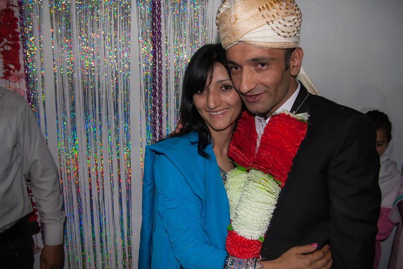 Rehman and his sister Nasira