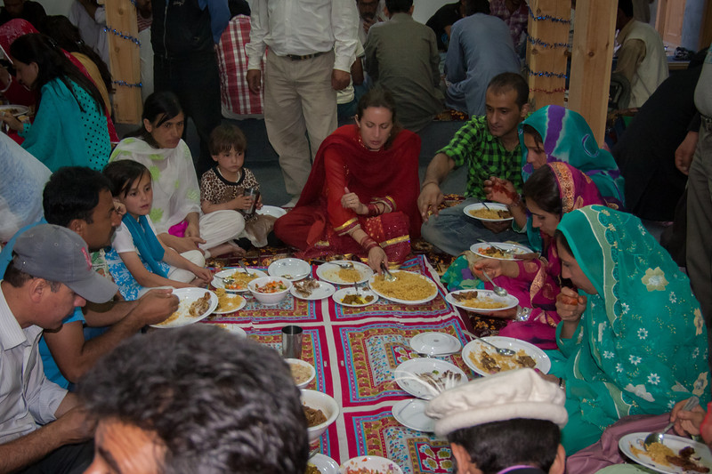 We had lots of yummy meals over the course of the two-day wedding