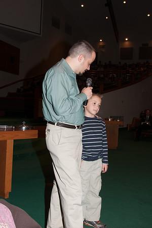 2012 - Josh's Baptism