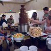 This chocolate fountain seemed like a good idea until...