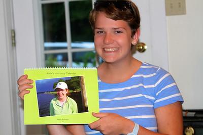 Katie loves her calendar