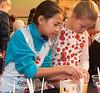 Kiara and Kiera working together.