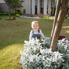 Enjoying the gardens at the Serena after breakfast