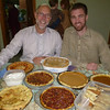 The men and the pies . . .