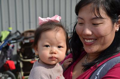 October 20, 2012 - Dewberry Farm with Auntie Bernice