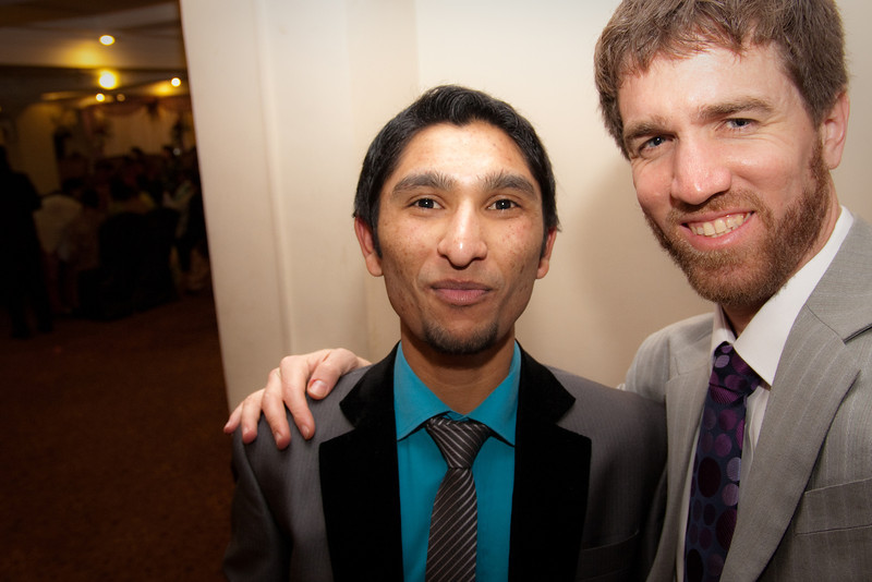 Me with Suneel, my language teacher and good friend