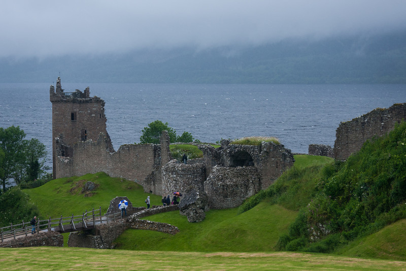 We spent several days with our friends Jo and Jenny in Scotland before going to our PI training in Manchester, England. Together we visited this castle, Urquhart, on the shores of Loch Ness.